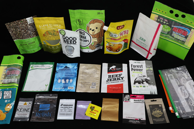 Food package and other compound laminated bag