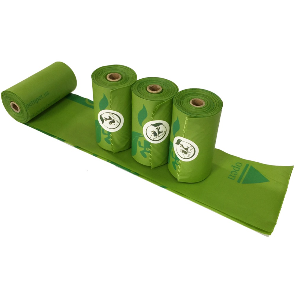 Customized Unscented Dog Poop Waste Pick-Up Bags on Rolls