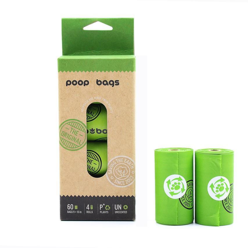 Factory direct sale customized paper dog poop  waste  bags