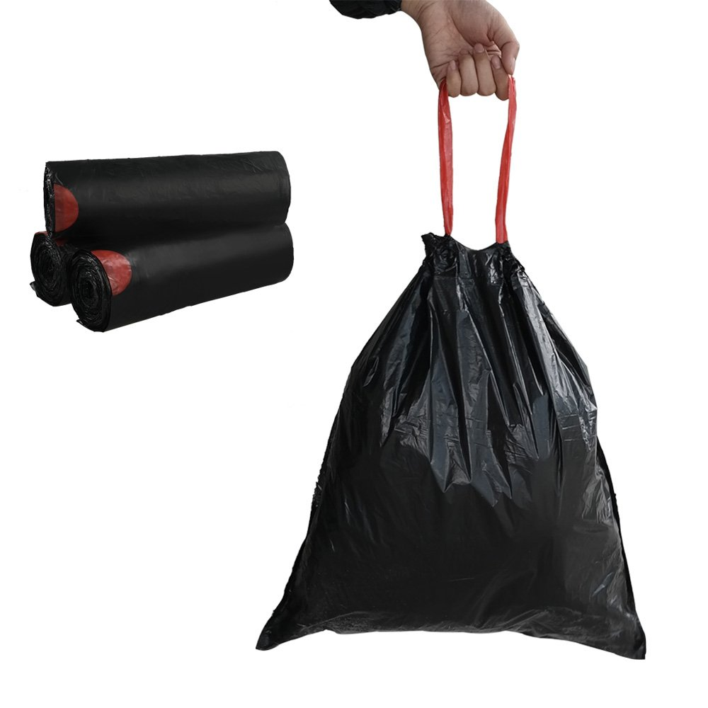 Small drawstring garbage bags Extra Strong  Drawst