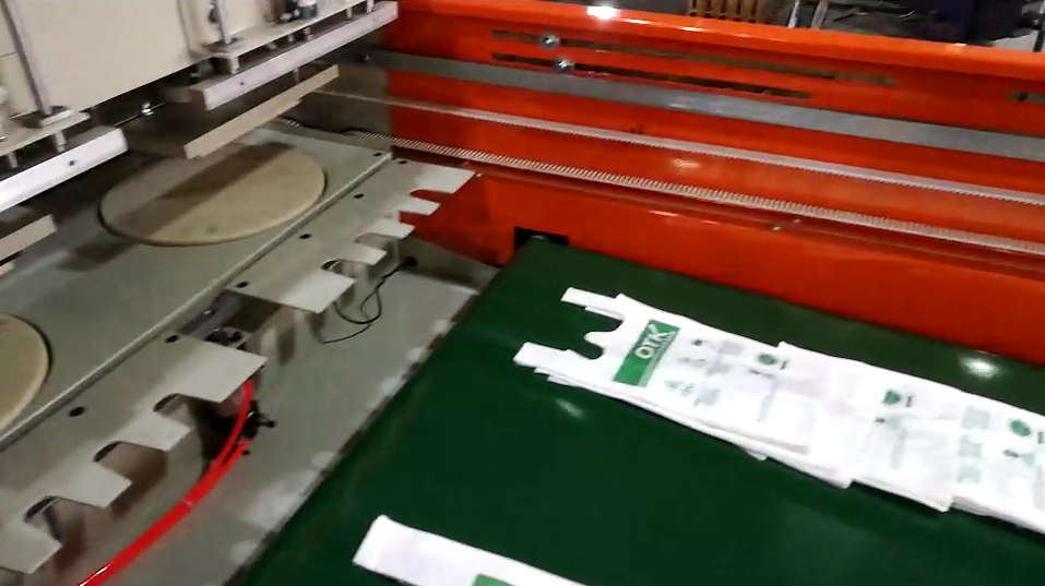 T-Shirt Bag Production video